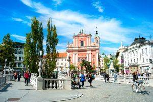 Ljubljana Preseren Square First Lady tour triese excursions